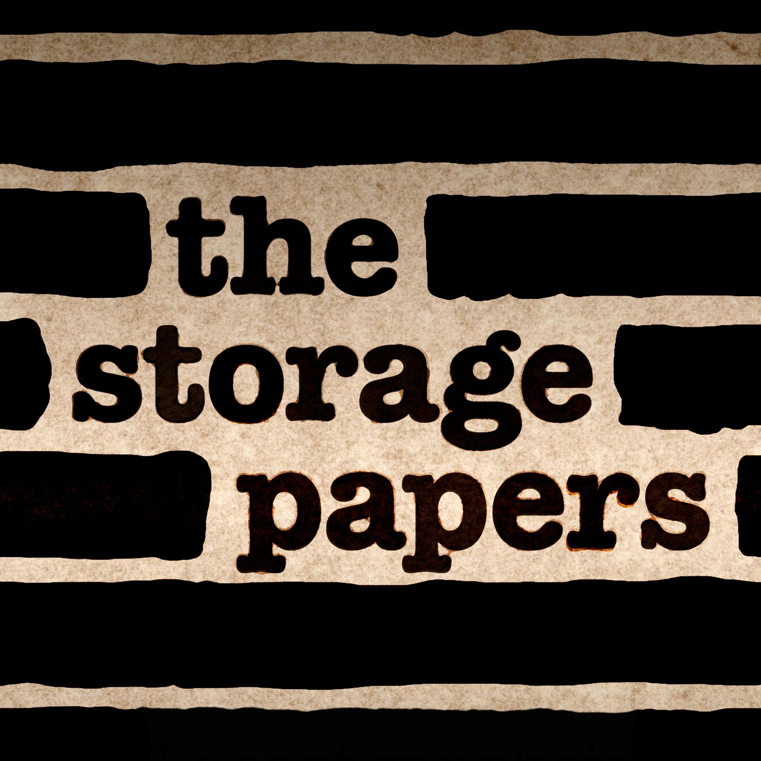 """""""    The Storage Papers """" Podcast"""