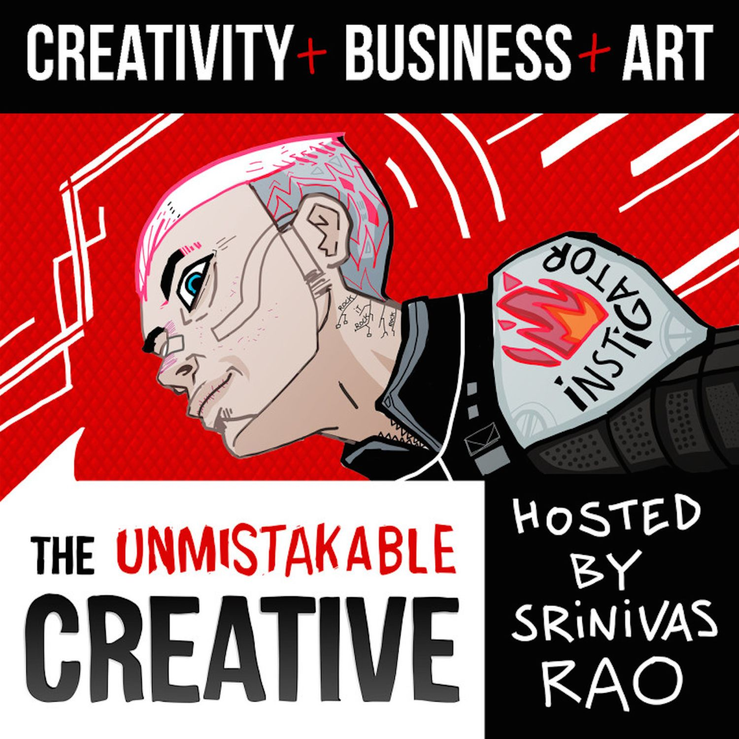The Unmistakable Creative Podcast podcast show image