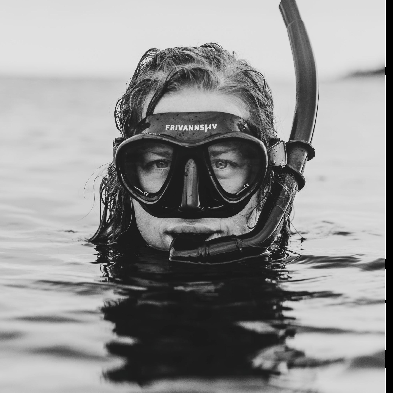 Pia som elskar havet
