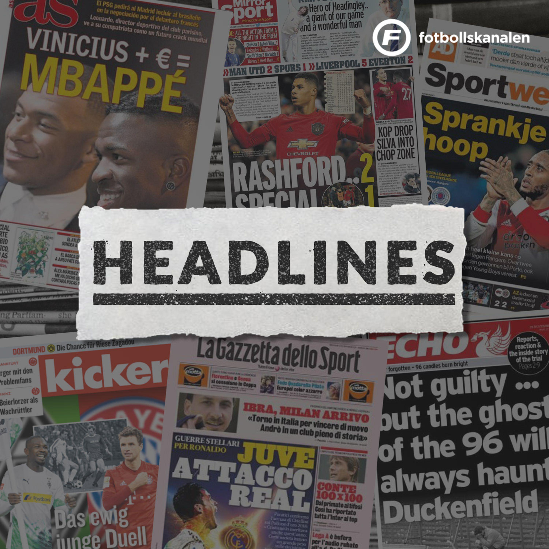 Fotbollskanalen Headlines - 9 juli 2020