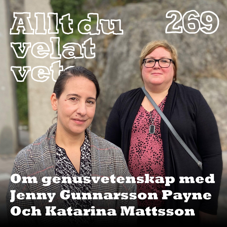 269 Om genusvetenskap med Jenny Gunnarsson Payne och Katarina Mattsson