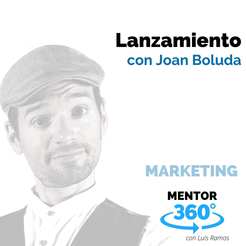 Lanzamiento, con Joan Boluda - MENTOR360