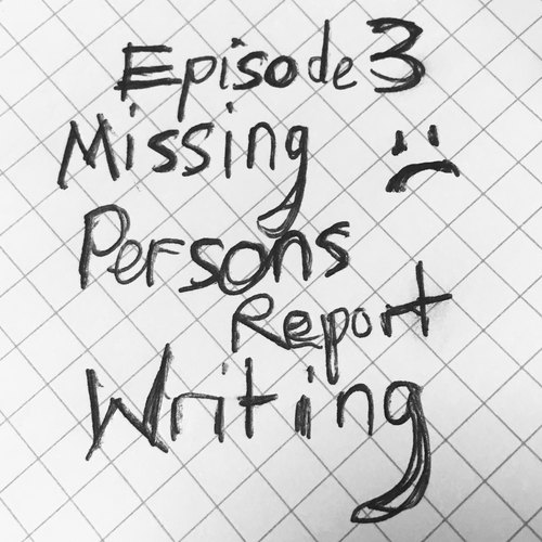 S1E3 - Missing Persons Report Writing   Writing Advices