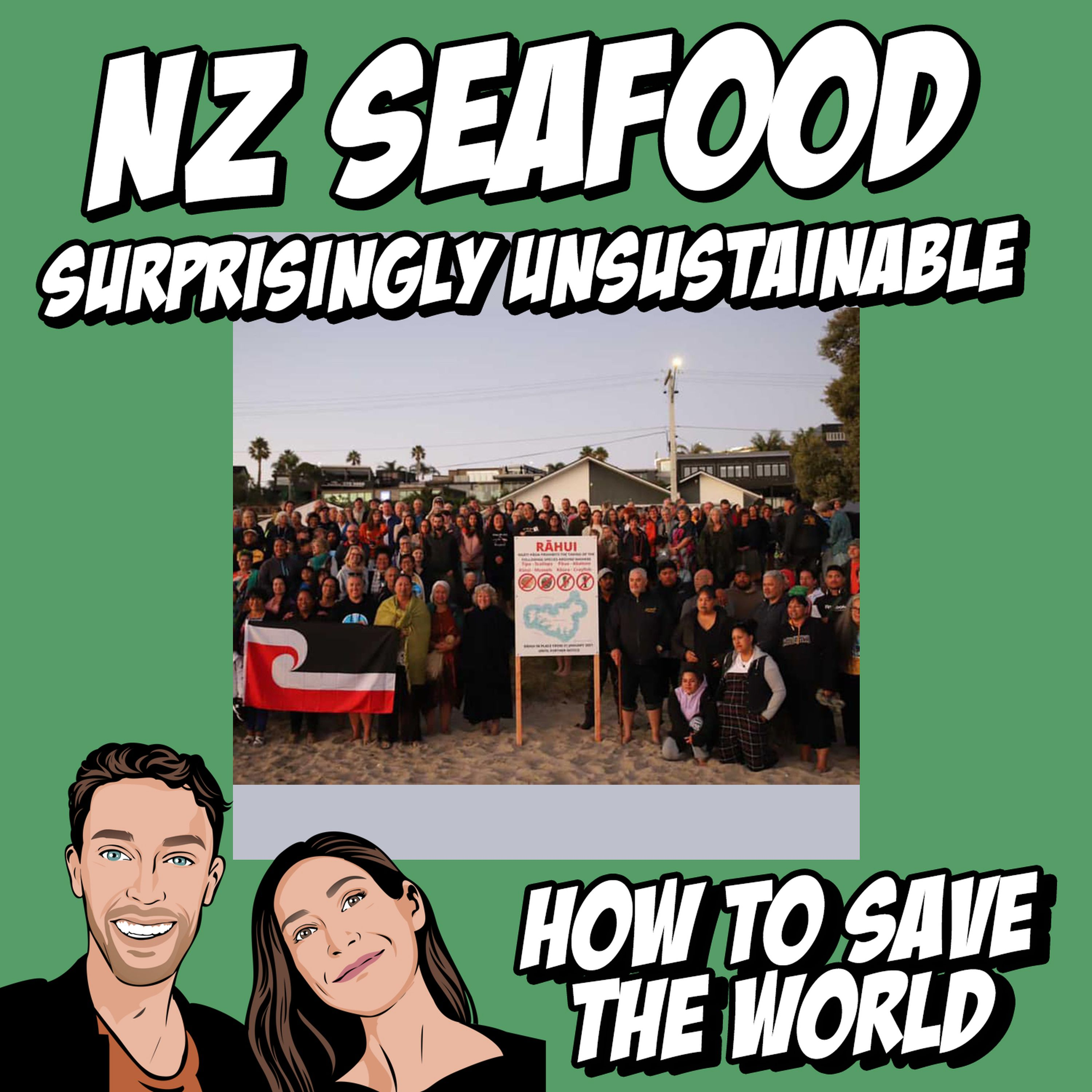 NZ Seafood: Surprisingly Unsustainable