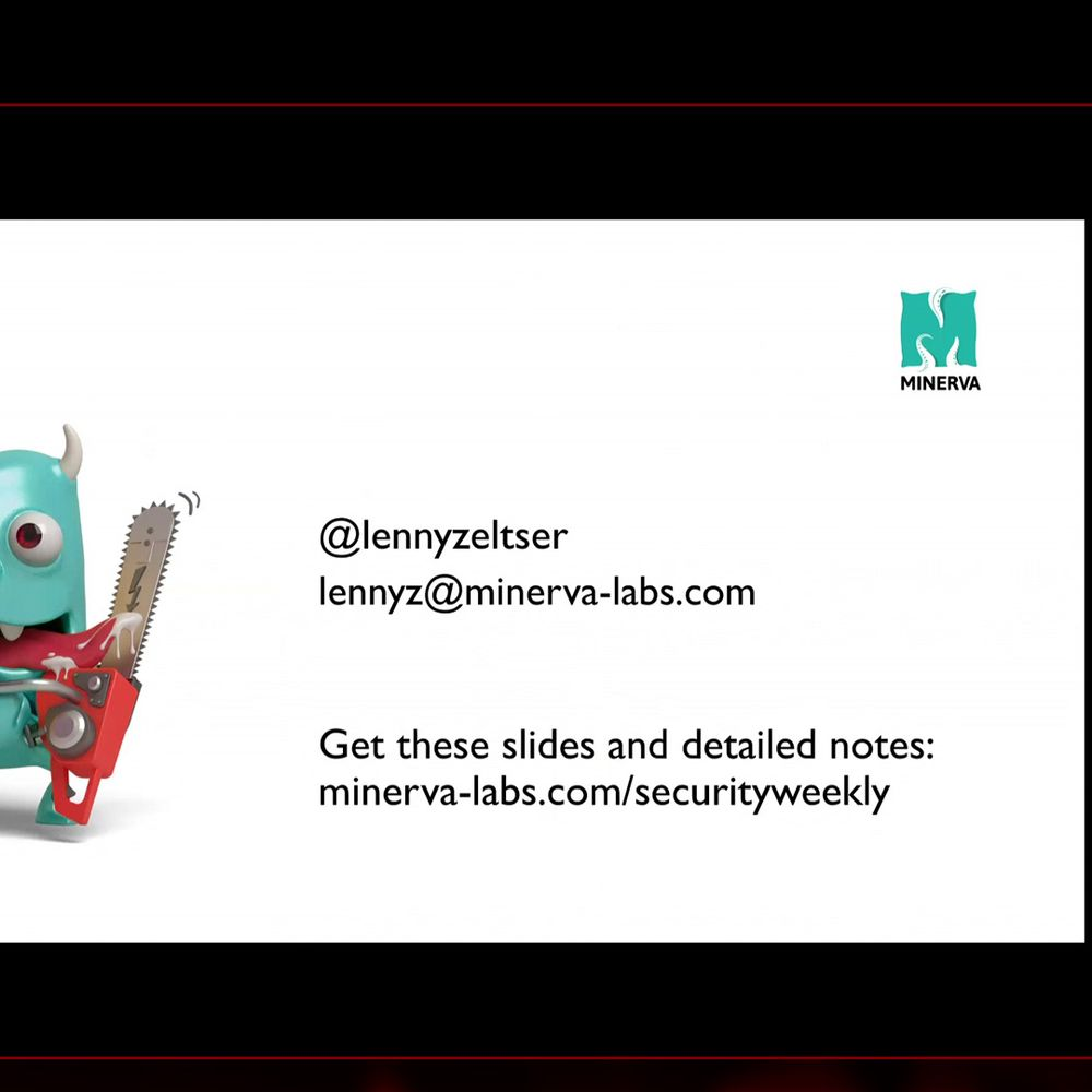 Lenny Zeltser, Minerva Labs - Paul's Security Weekly #585