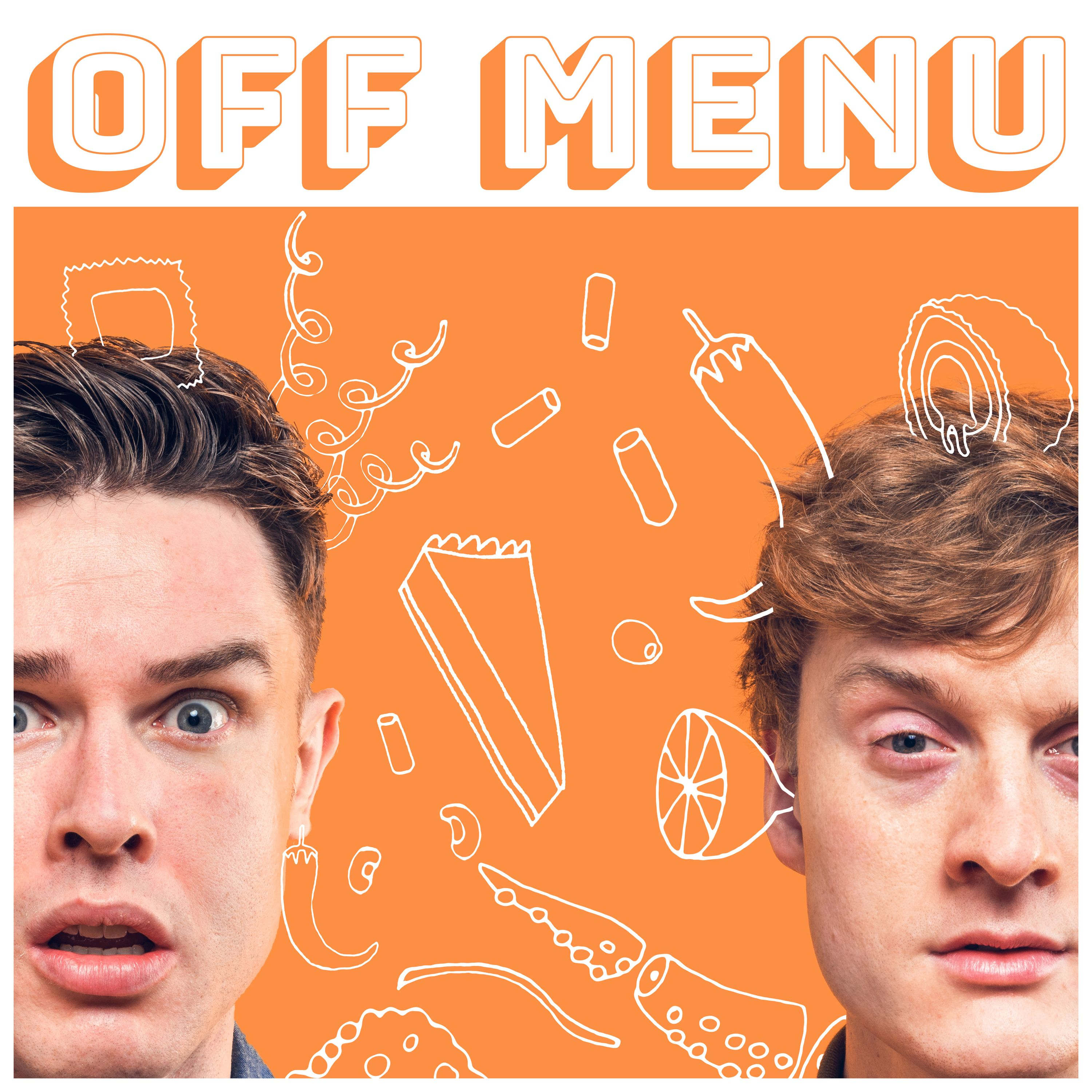 Ep 100: Ed Gamble and James Acaster (with special guest genie Claudia Winkleman)
