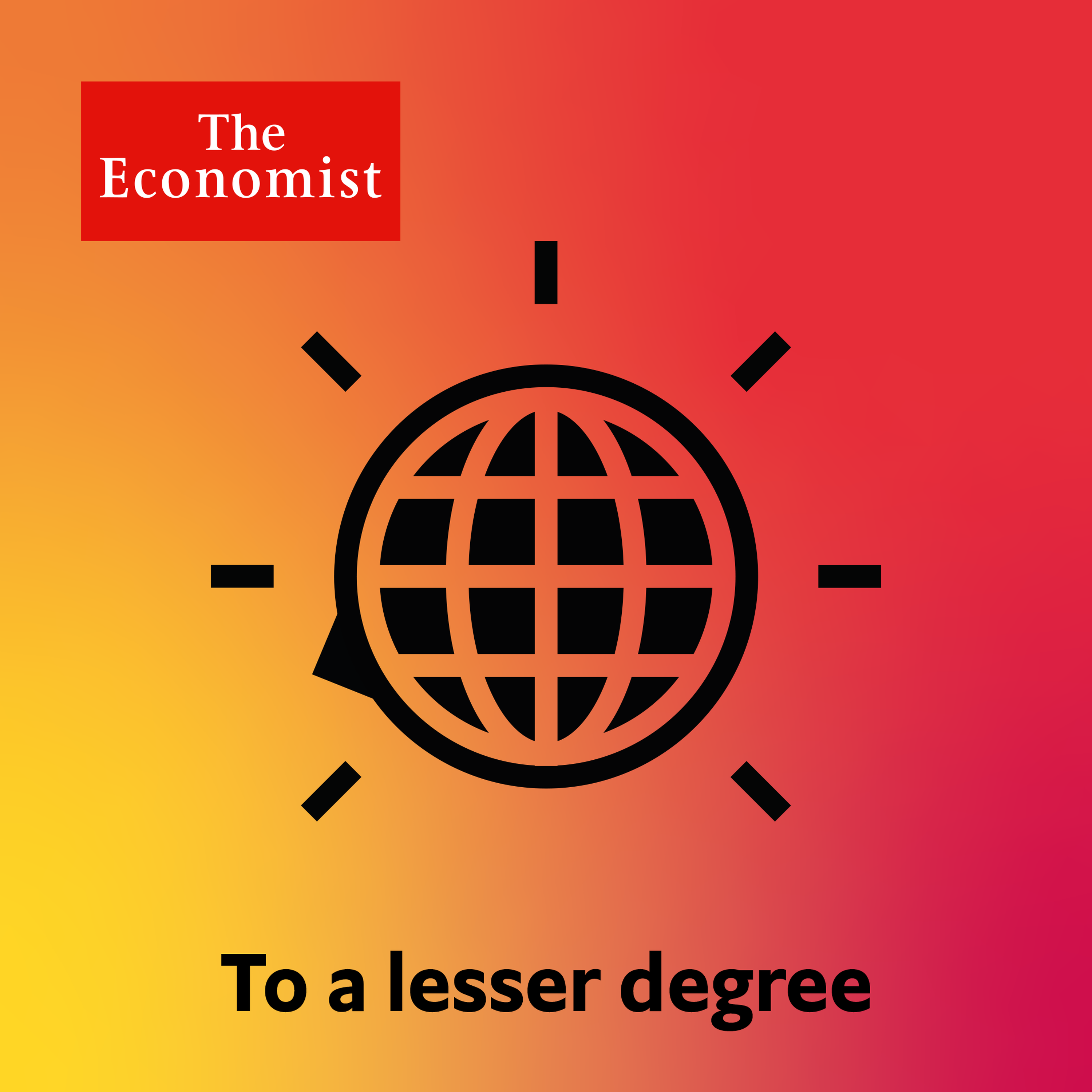 To a Lesser Degree: Paying for it