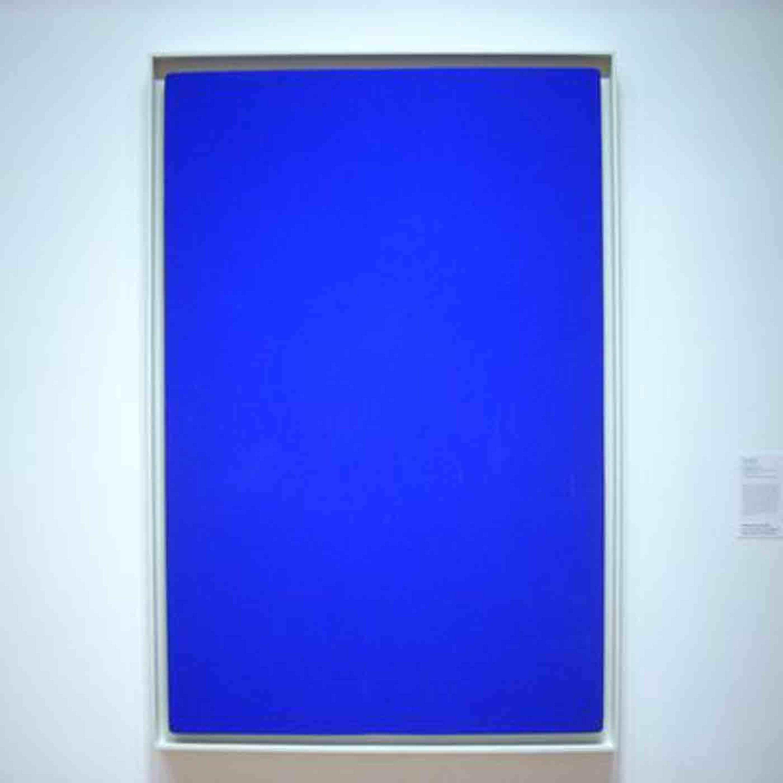 Qu'est-ce que le bleu de Klein ?
