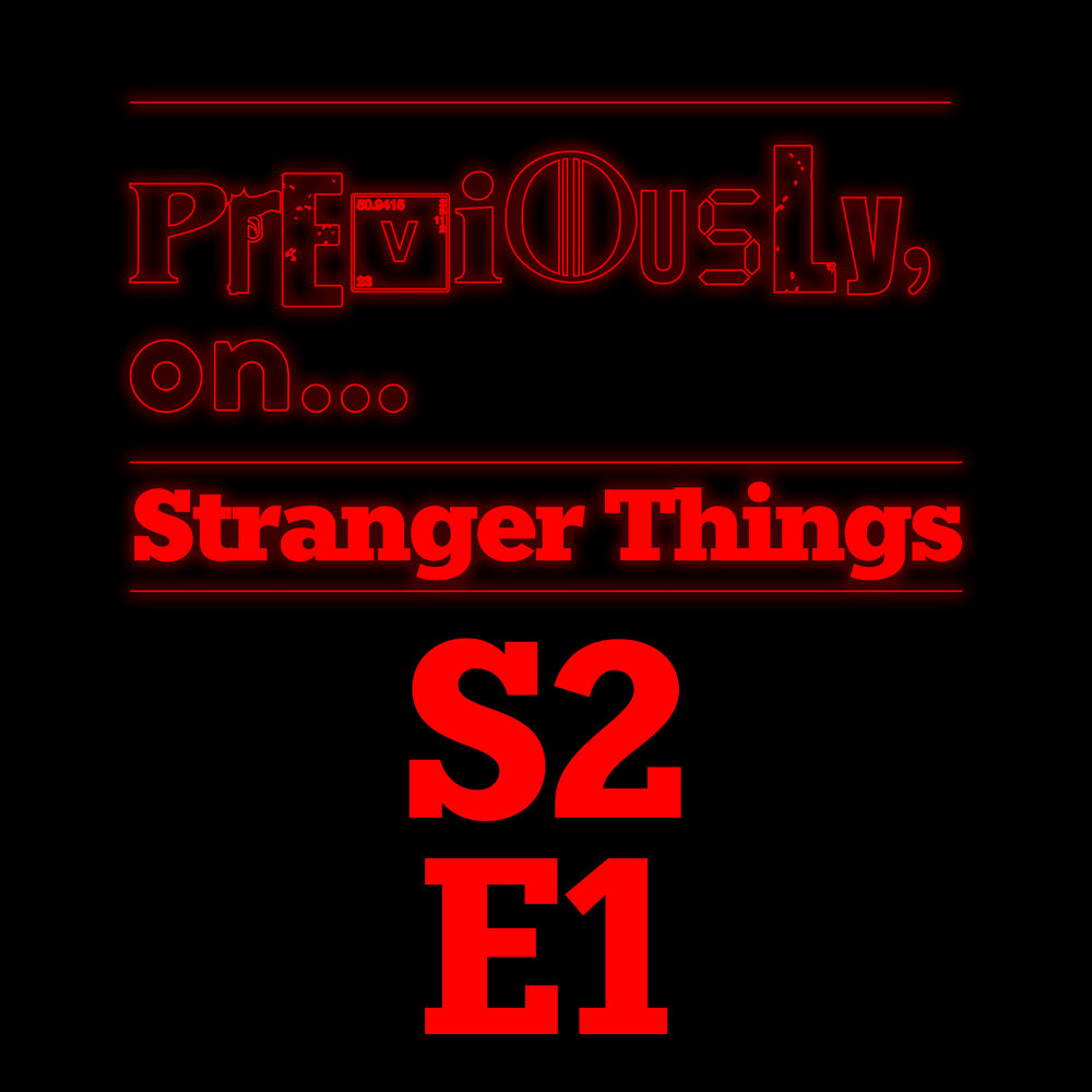 Stranger Things S2E1 - MADMAX   Previously, on    on acast