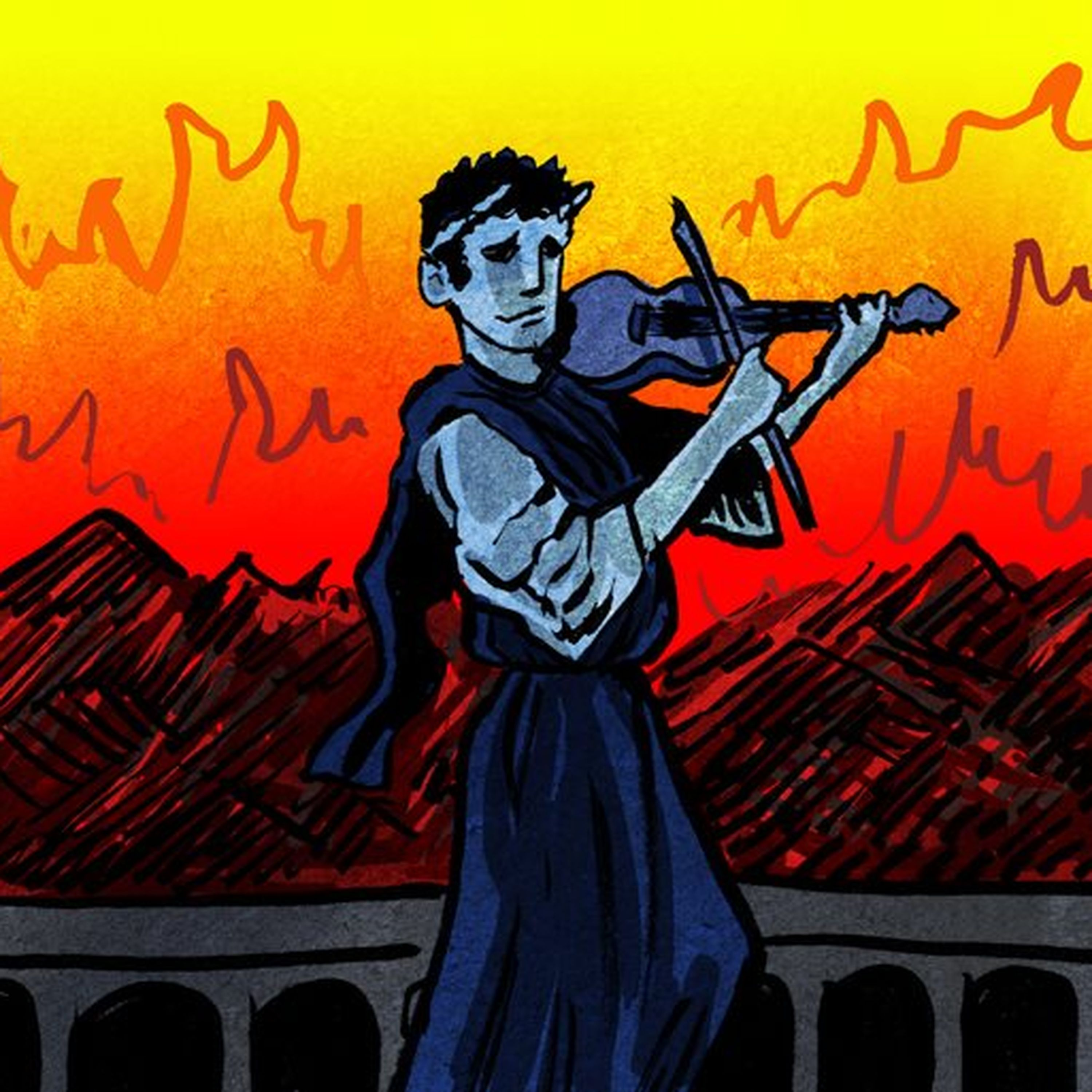 Episode #2- Did Nero Really Fiddle As Rome Burned?