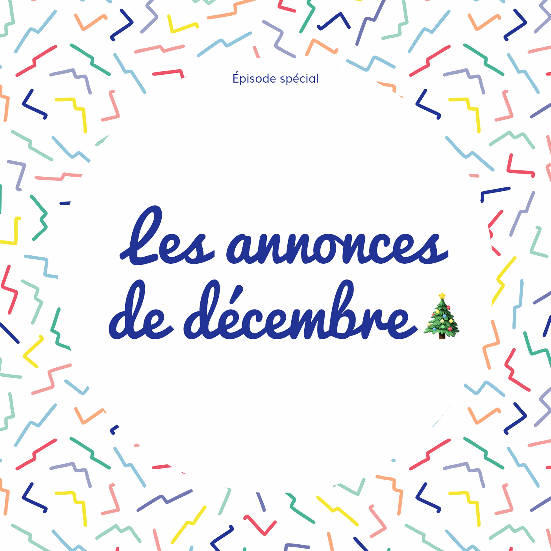 [Annonce] Le programme du mois de décembre !