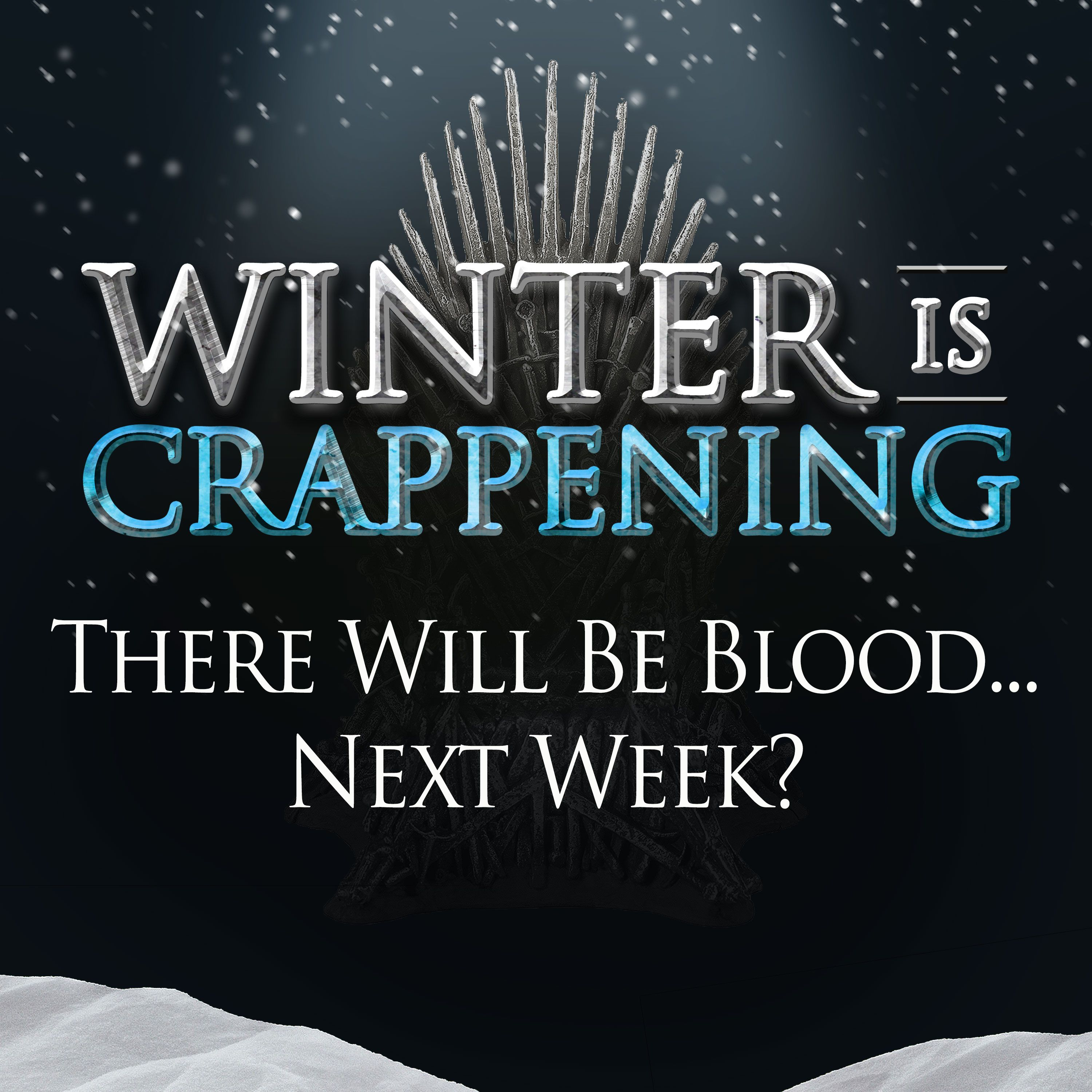 There Will Be Blood... Next Week?