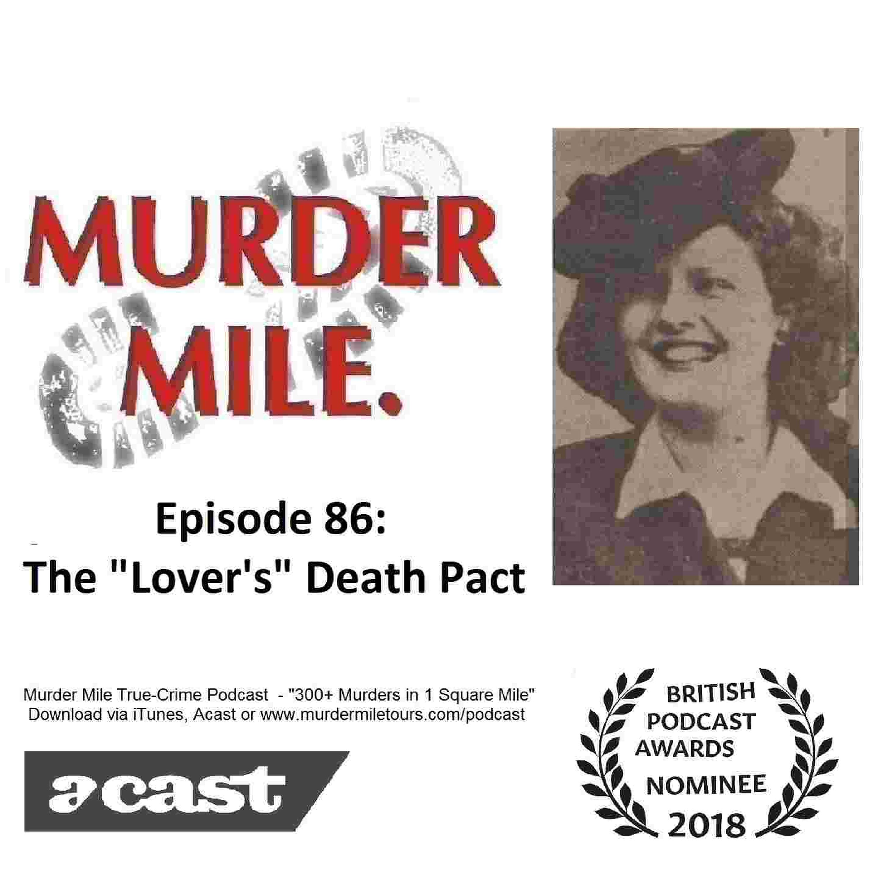 "#86 - The ""Lover's"" Death Pact (Barbara Shuttleworth & Felic Sterba)"