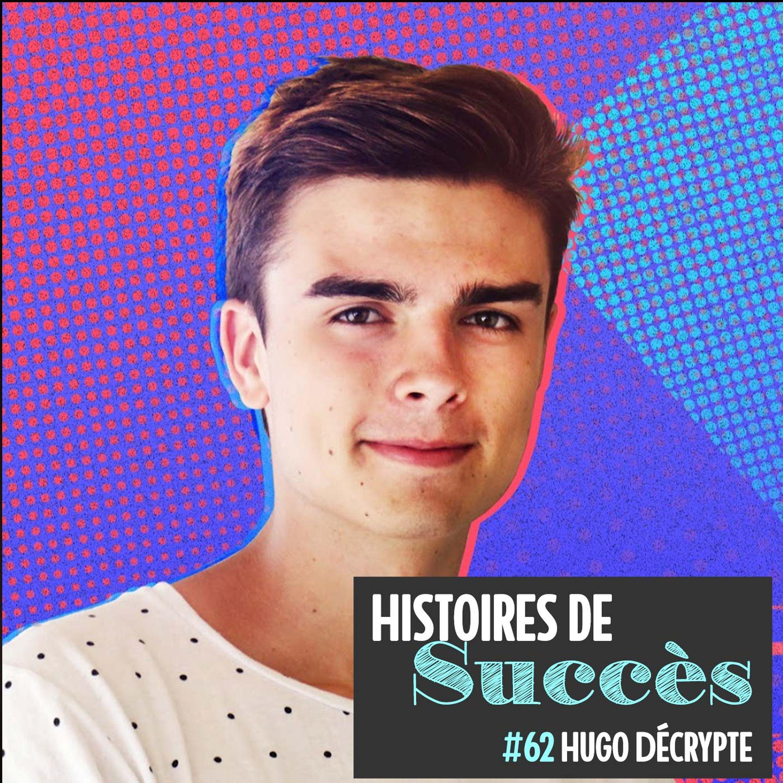 Hugo Décrypte a créé son propre média à 20 ans