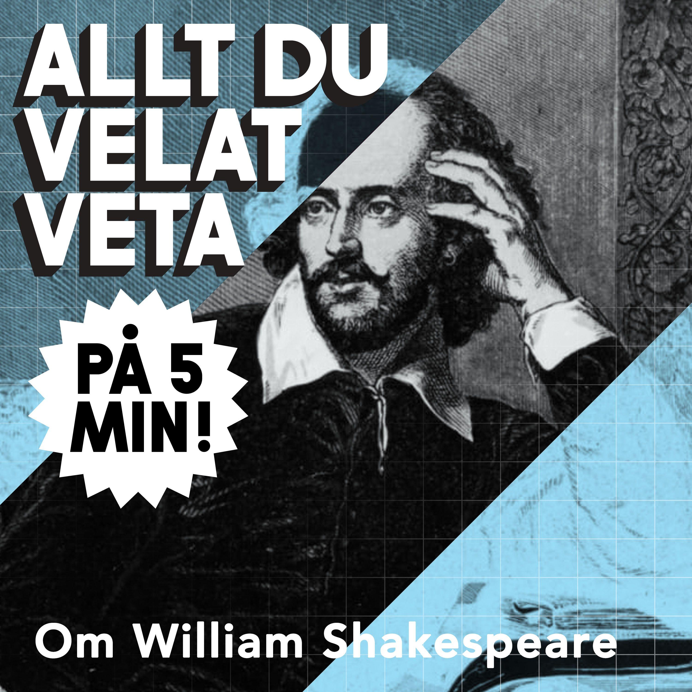 5 minuter om William Shakespeare