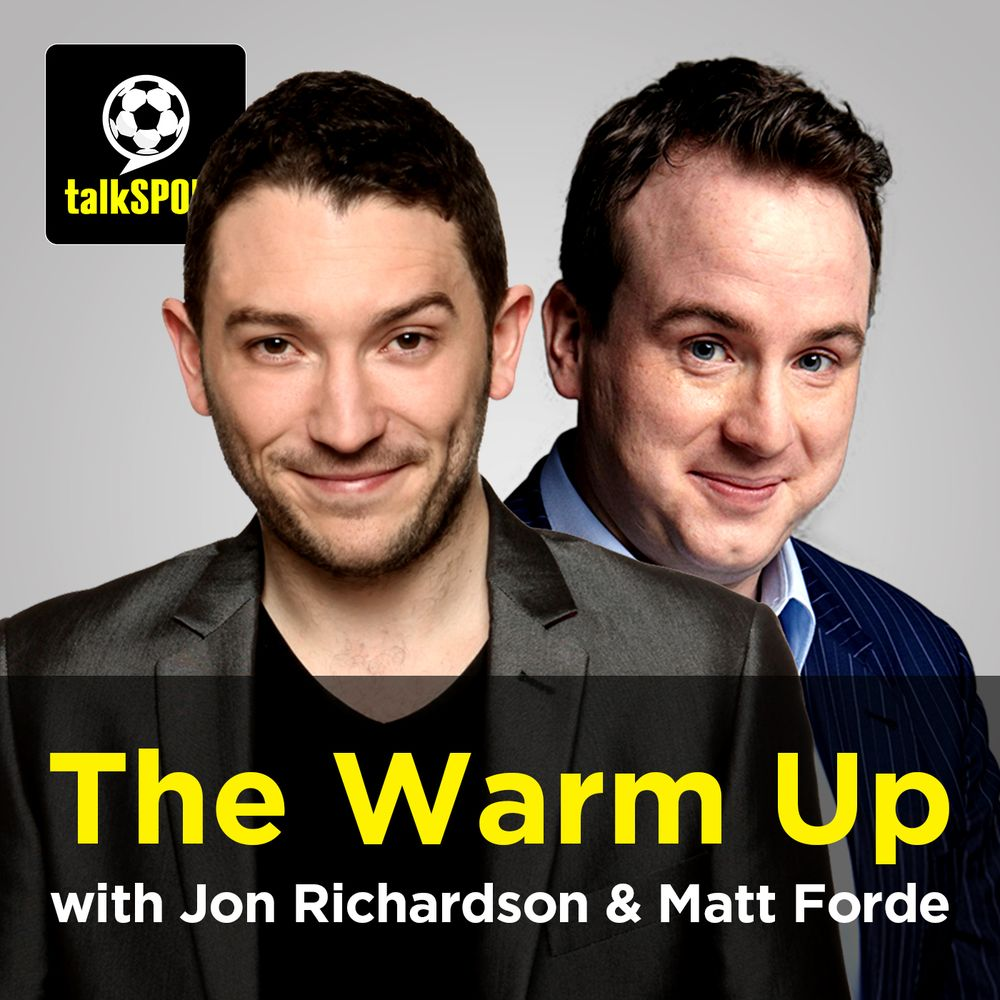 The Warm Up With Jon Richardson And Charlie Baker Saturday 27
