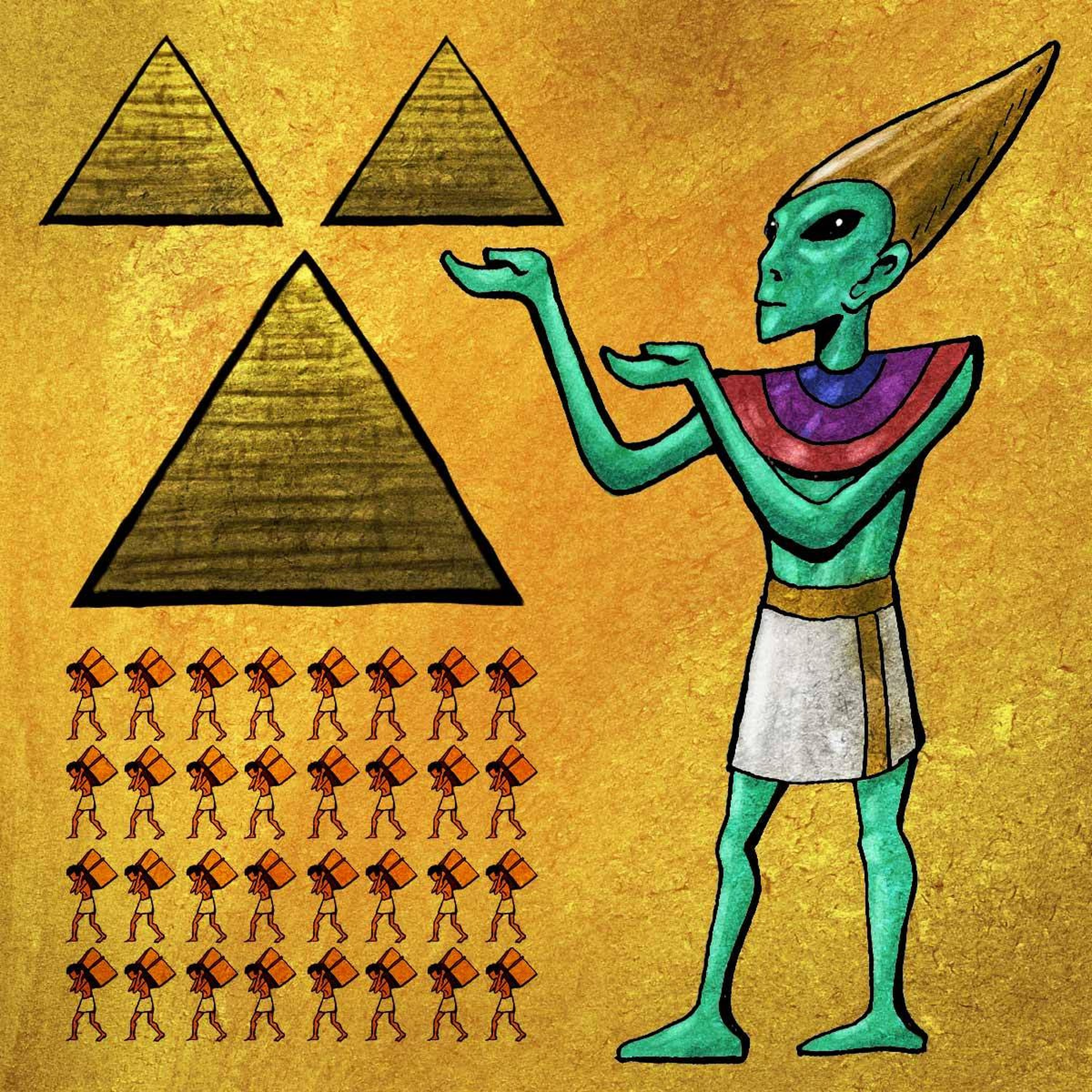 Episode #99- Who Built the Pyramids? (Part III)