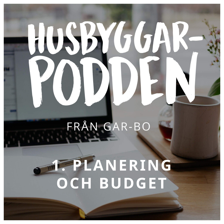 1. Planering och budget