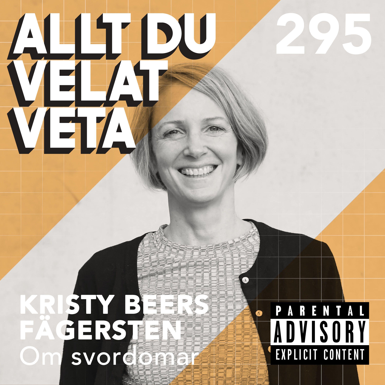 295 Om svordomar med Kristy Beers Fägersten