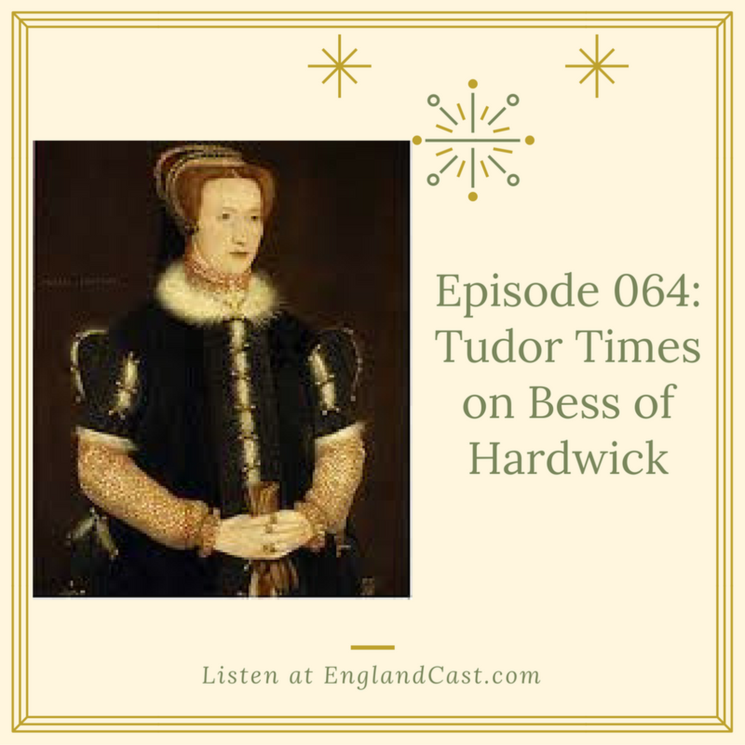 Episode 064: Tudor Times on Bess of Hardwick