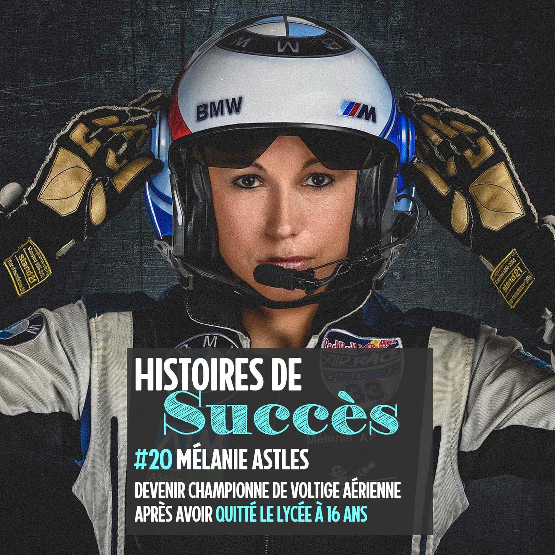 Mélanie Astles, championne de voltige aérienne