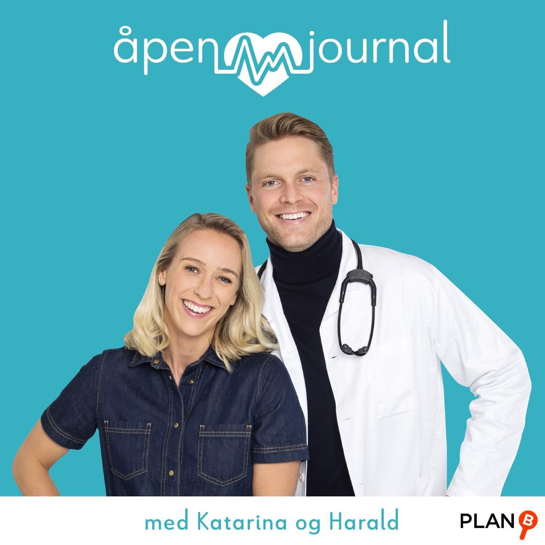 Åpen journal med Katarina og Harald
