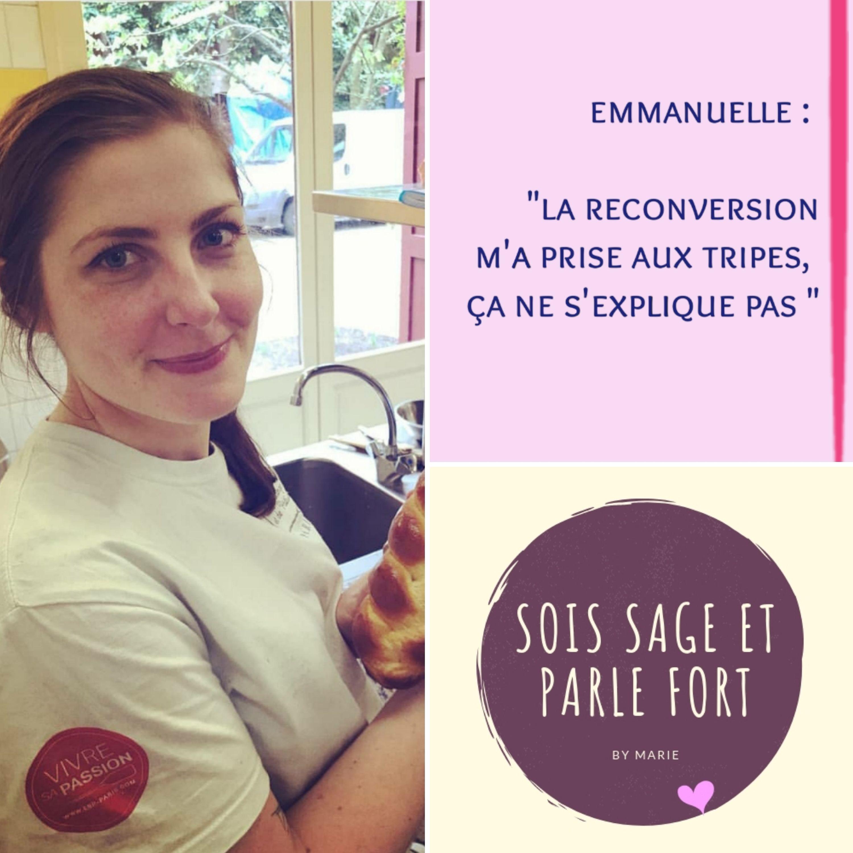 """De la comm' à la boulange, Emmanuelle : """"la reconversion m'a prise aux tripes, ça ne s'explique pas"""""""